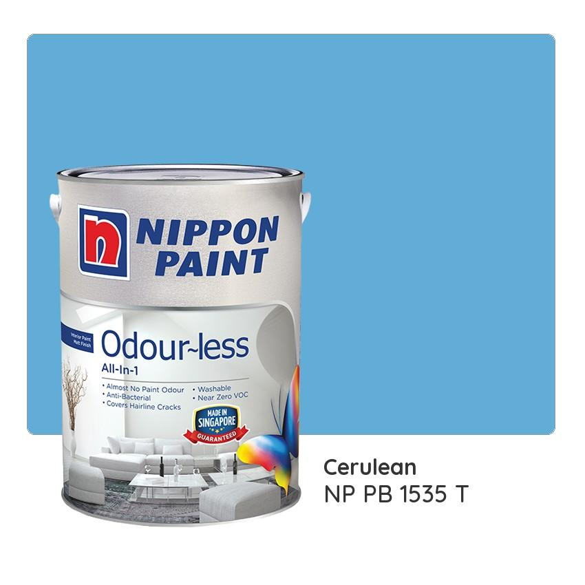 Nippon Paint Odour Less All In 1 Np Pb 1535 T 1L On Singapore