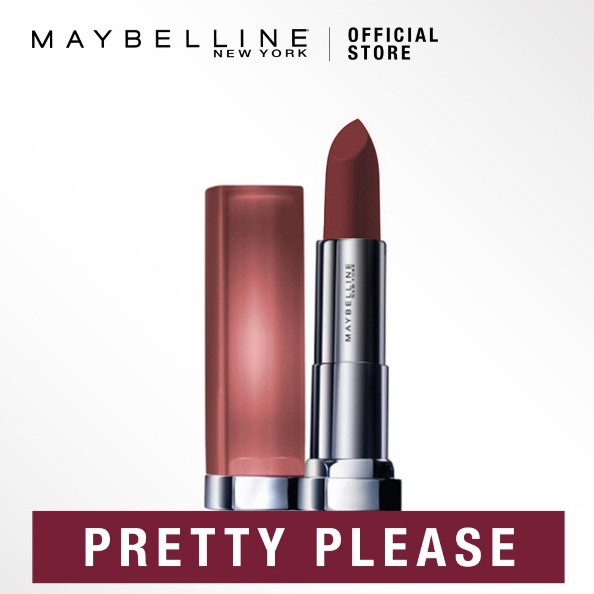 Maybelline Color Sensational Powder Matte Lipstick Inti-Mattes Nudes By Maybelline.