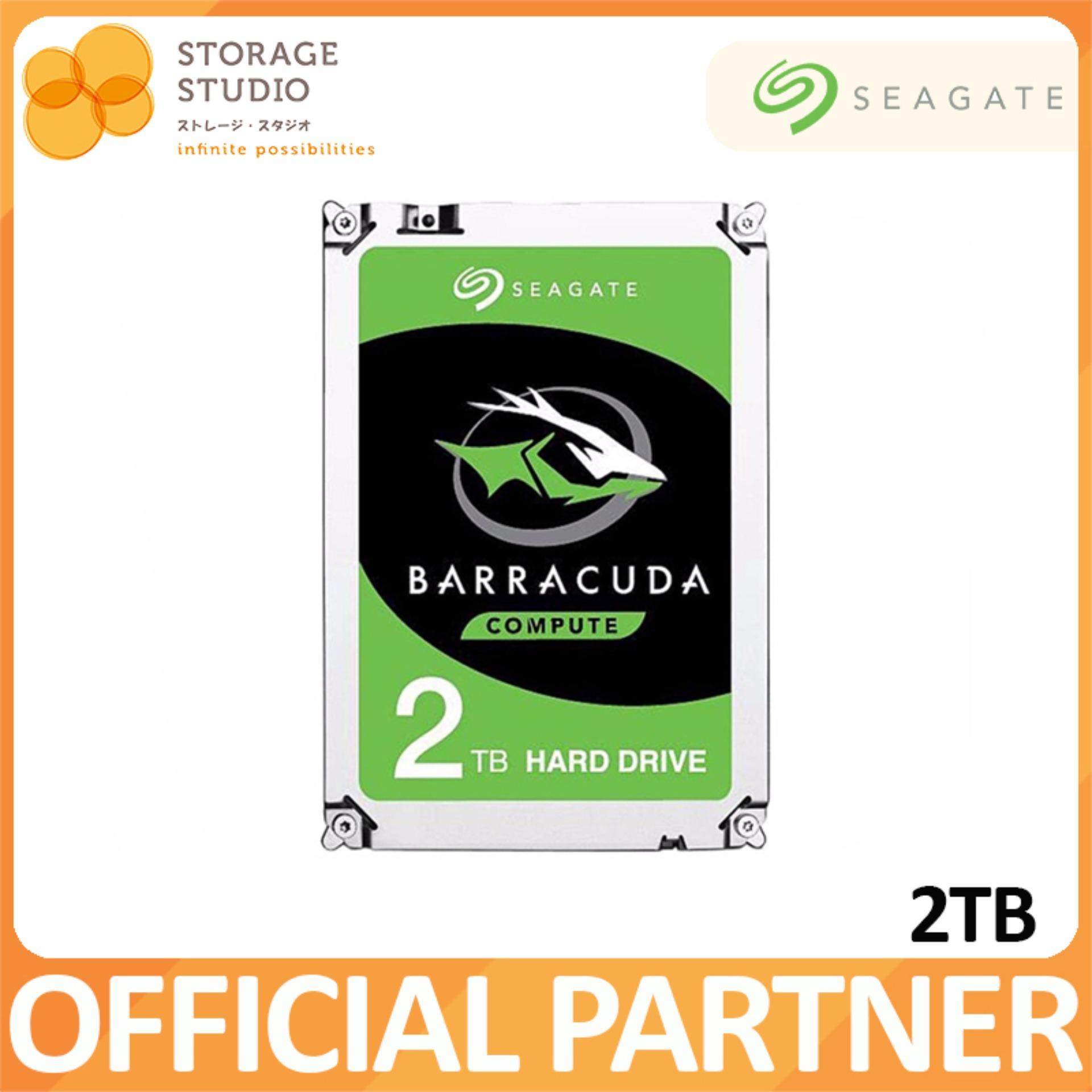 Seagate 2Tb Barracuda 3 5 Inch Sata 6Gb S Desktop Hard Disk For Sale Online