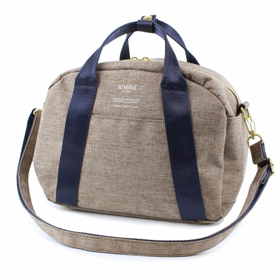 f1dd630a21  anello japan best seller  AT-C1835 2in1 High density heather mini Boston  bag
