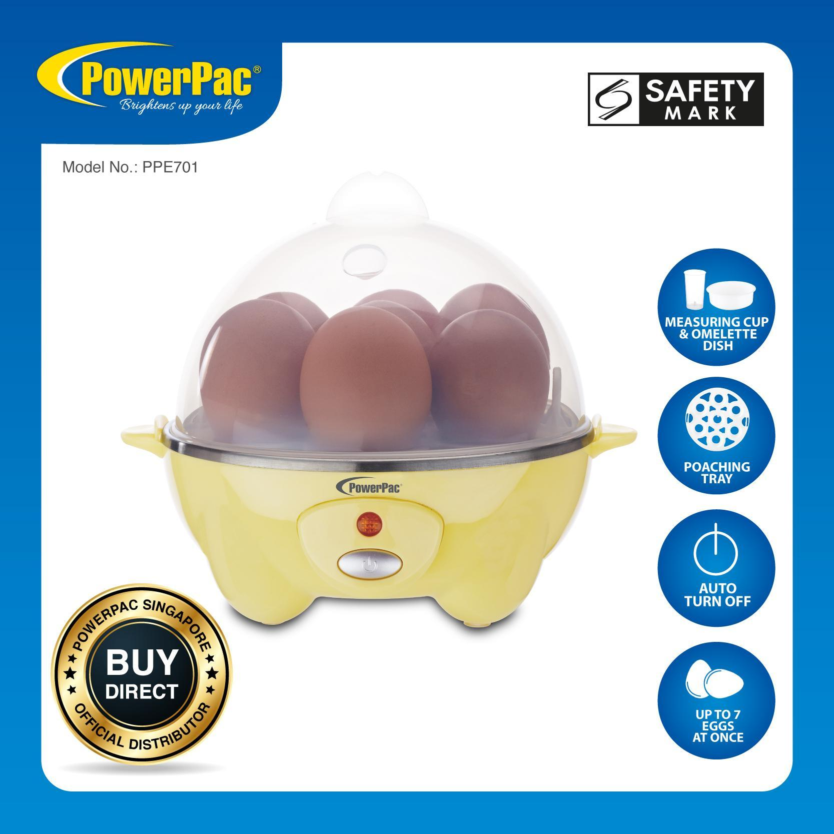 Powerpac Electric Egg Steamer (ppe701) By Powerpac.