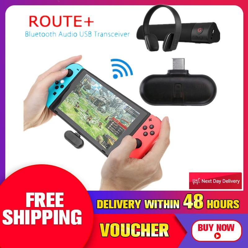 【free Shipping + Flash Deal】for Nintendo Switch Bluetooth 2.1 + Edr Type-C Usb Adapter Audio Transmitter By Freebang.
