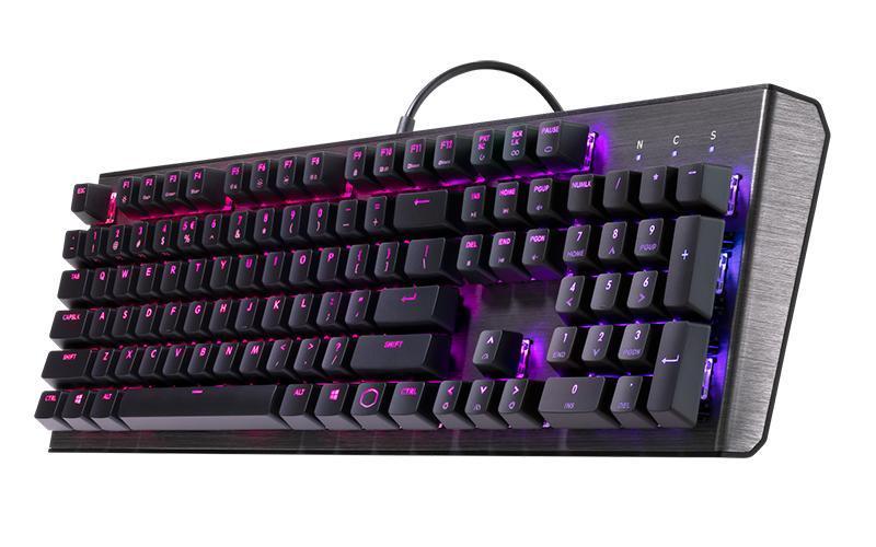 Cooler Master CK550 RGB Gateron Mechanical Gaming Keyboard Singapore