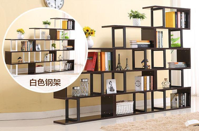 JIJI 4 Tiers Terran Bookcase Rack (Shelve Storage) (Free Installation) - Shelves / Bookcases / Bookshelf / Storage / Organizer /Furniture /Open Cabinet/ Free 12 Months Local Warranty (SG)