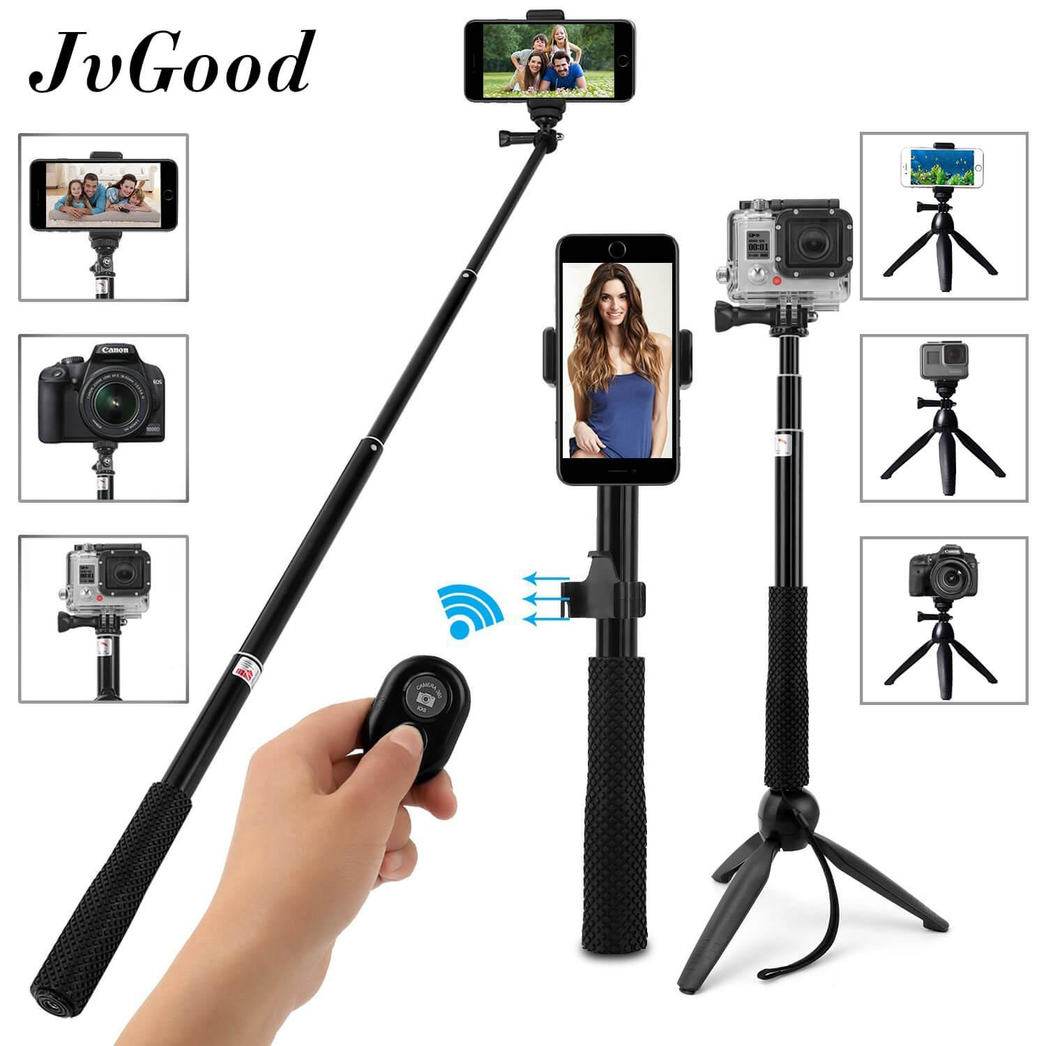 Live Equipment Live Tripods Supply Lightweight Portable Extendable Selfie Tripod With Phone Clip For Smartphone Sport Camera Live Video