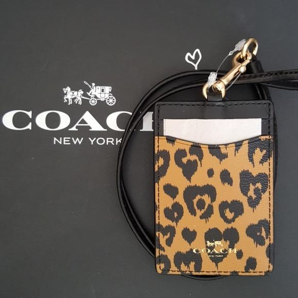 Compare Coach Lanyard Model F23626 Id Lanyard Ladies Design Prices