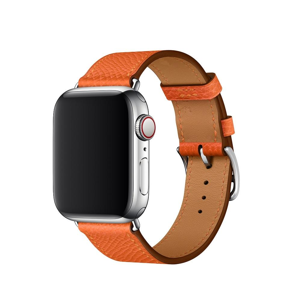 32bdbd7a7d3306 Apple watch genuine leather single tour strap compatible for Apple watch  series 4/3/