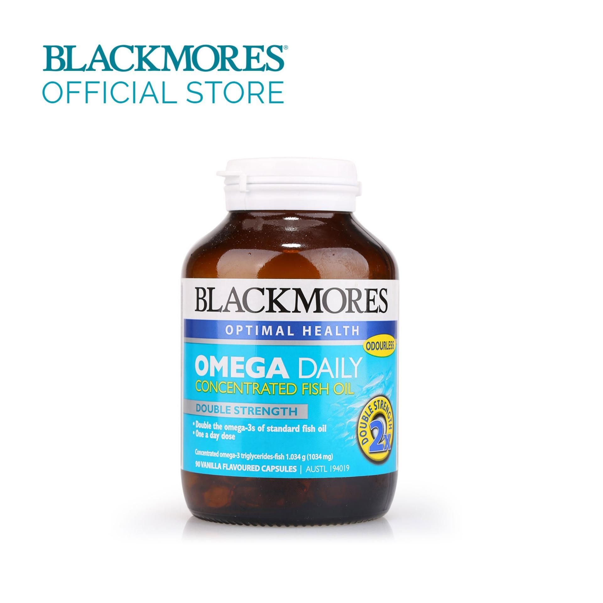 Blackmores Omega Daily 90caps By Blackmores Official Store.