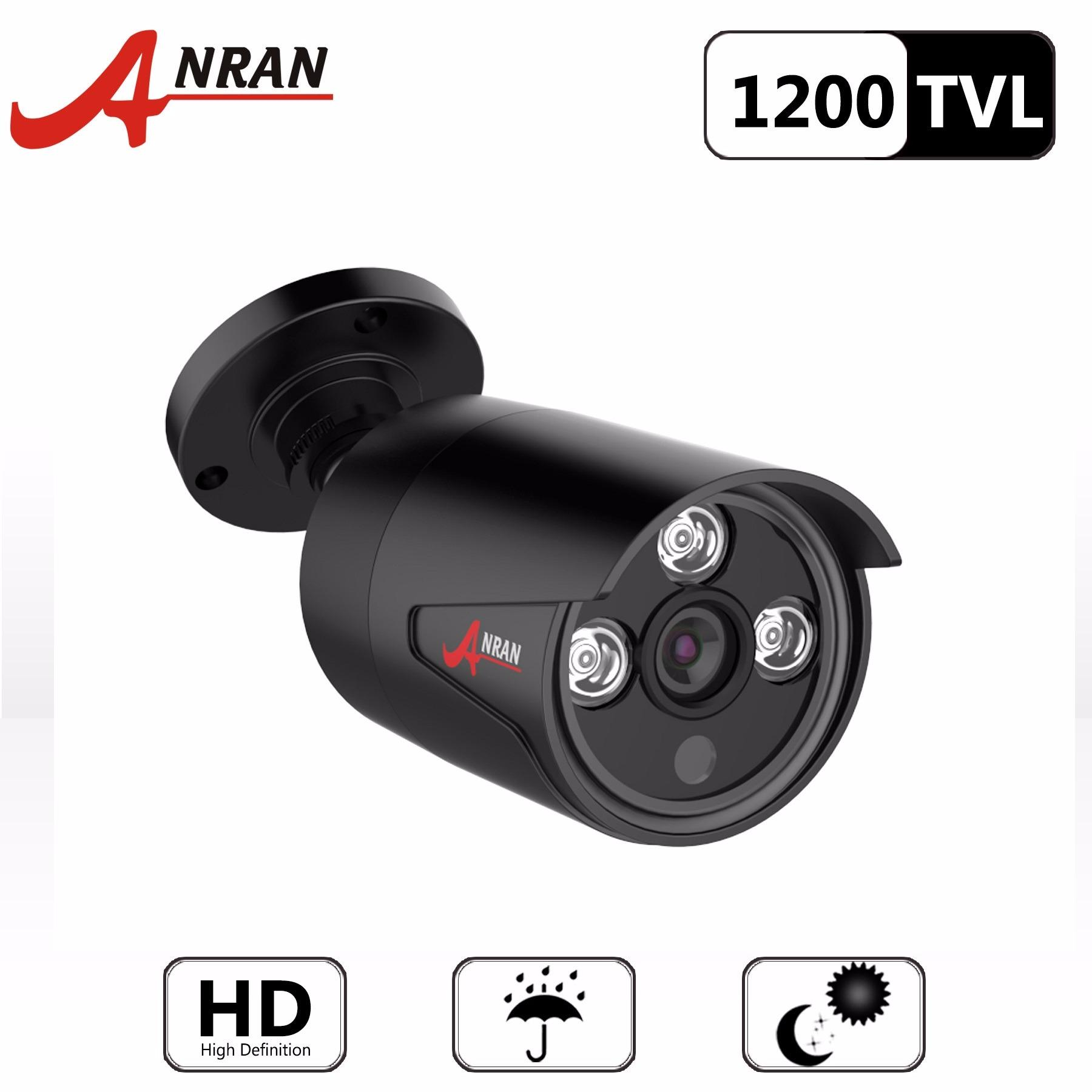 Buy Anran Hd 1200Tvl Cmos Sensor Security Waterproof Outdoor Indoor Bullet Surveillance Cctv Camera Anran Cheap