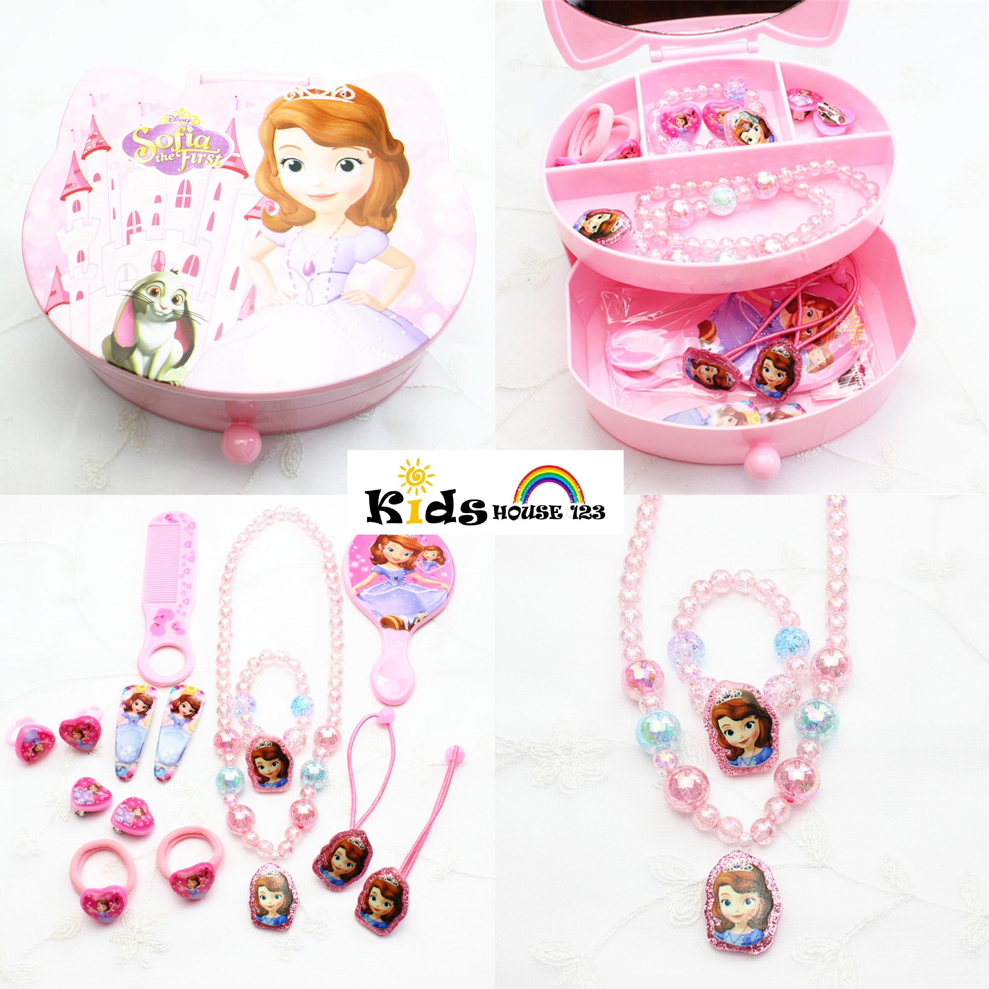 d850dcfc1 Sofia the First Jewelry / Hair Accessories Gift Set (Big) for Baby Kids  Children