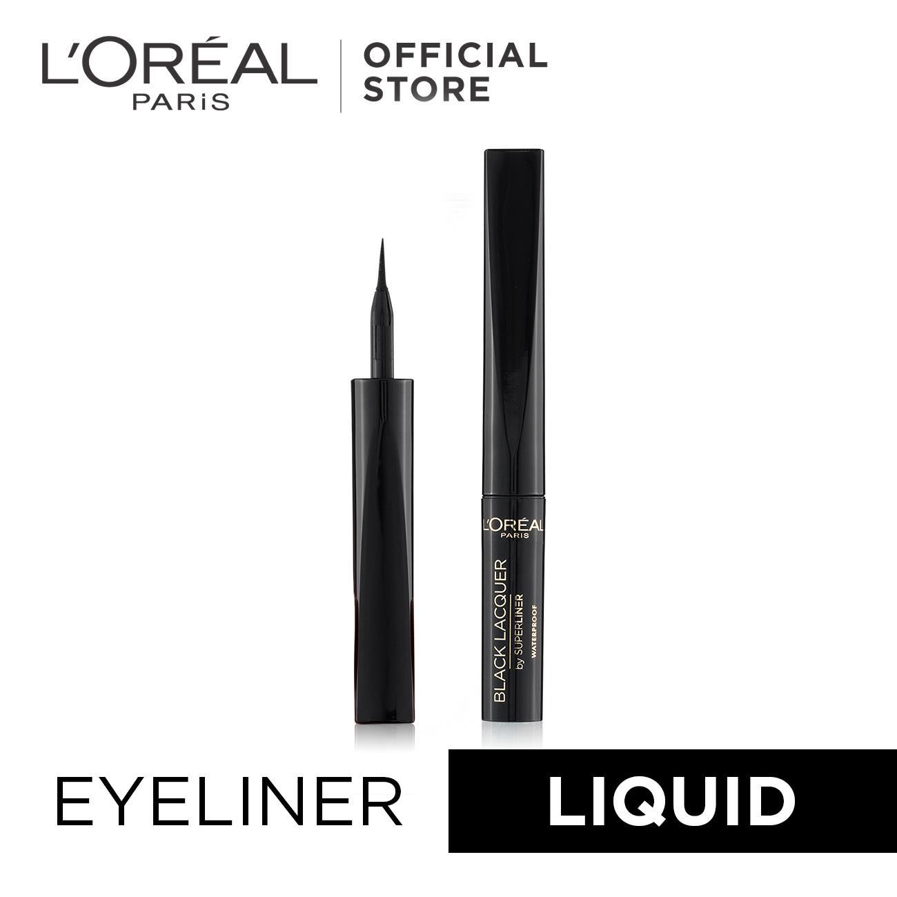 Superliner Black Lacquer - Black (Waterproof Eyeliner) by L'Oréal Paris