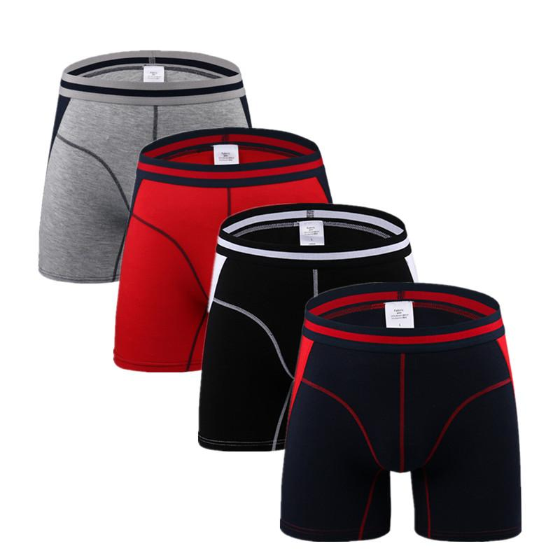 0b4630b2a4e0e1 Set of 3 Men's Boxers Briefs Fashion Boxer For Men Underwear Breathable  Panty Soft Mens Short