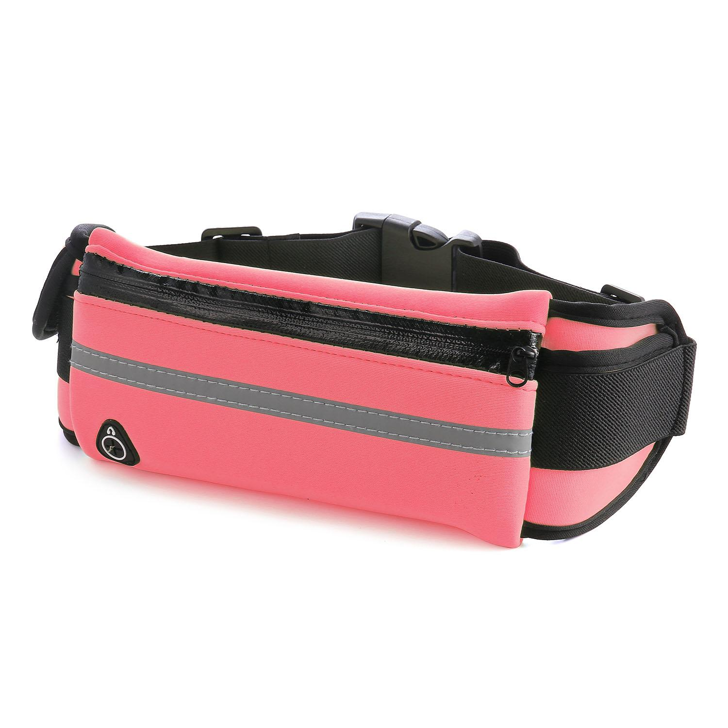 c882f8edefbfc4 Waterproof Running Hiking Sport Bum Bag Travel Money Phone Fanny Pack  Travel Waist Belt Money Zip