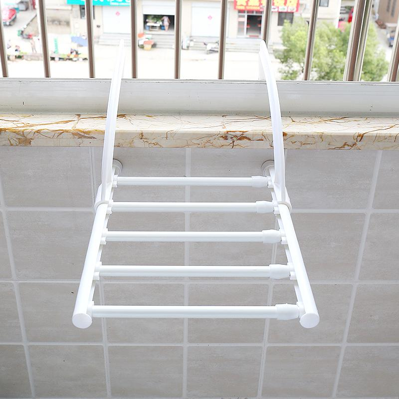 Creative 58 Multi-Functional Retractable Terrace/patio Snnei Outdoor Clothes Rack Liang Xie Jia Multilayer Air Dry Shelf Rack By Taobao Collection.