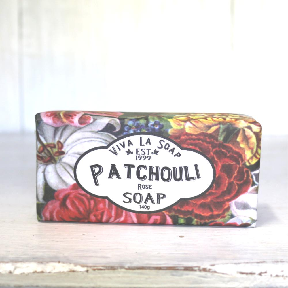 Cheap Viva La Soap Patchouli Rose Online