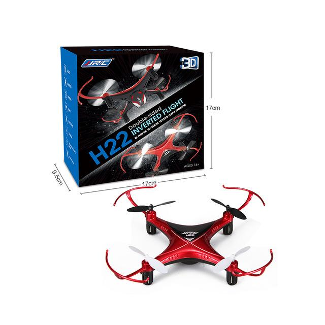 Buy Jjrc H22 3D Rc Quadcopter Double Side Headless Mode 360 Degree Rollover 3D Inverted Flight One Key To Return Online