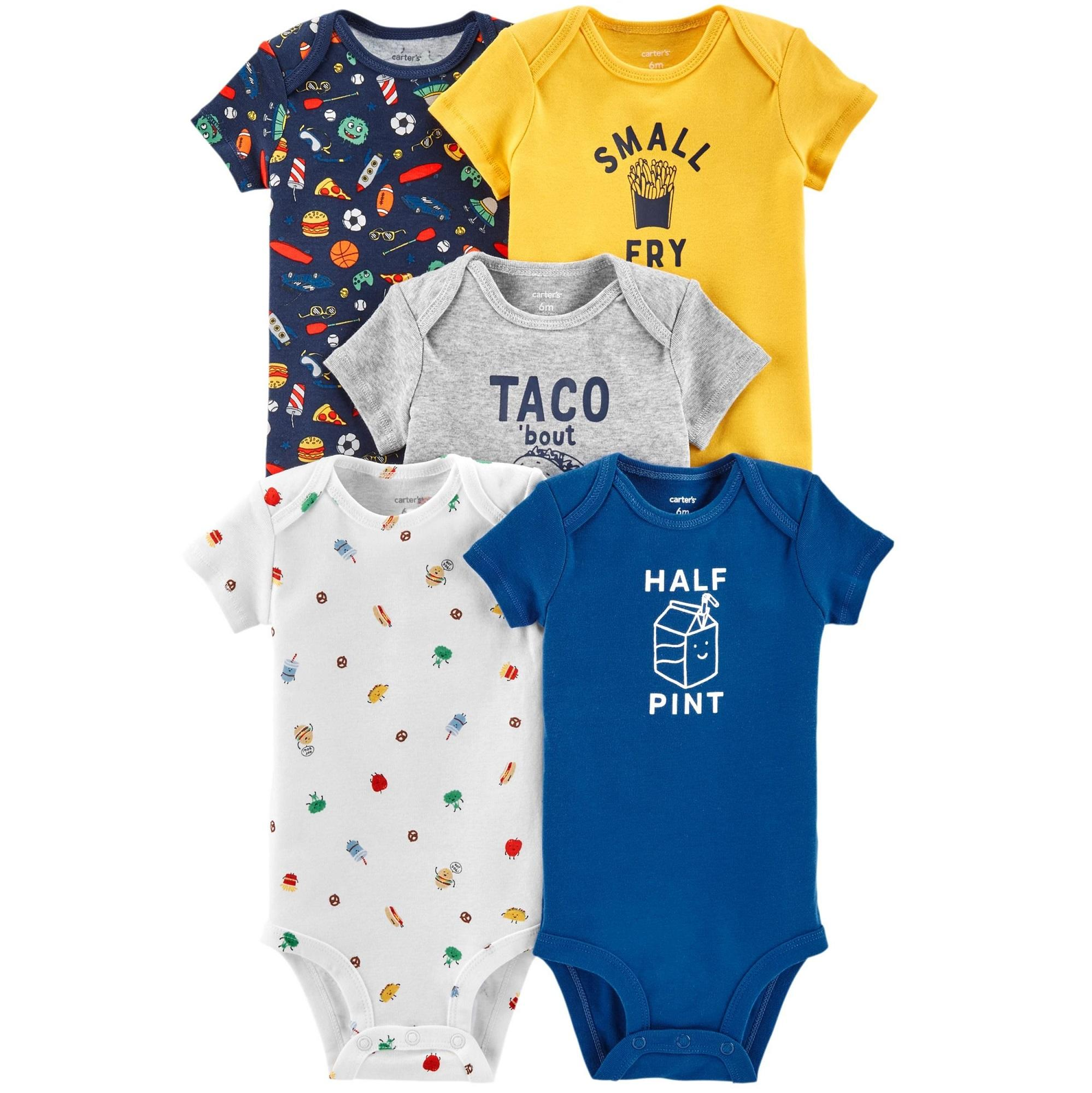 Buy Carter Baby Clothing Accessories Lazada Jumper Carters 5 In 1 Caby125 Pack Food Original Bodysuits