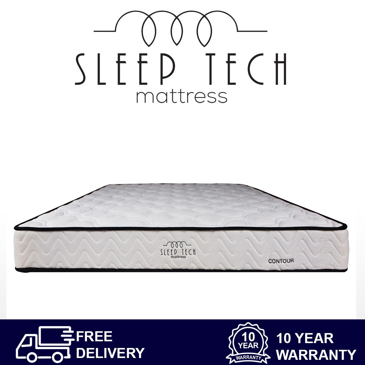 Sale Contour Bonnell Spring Queen Size Mattress By Sleep Tech™ Singapore Cheap