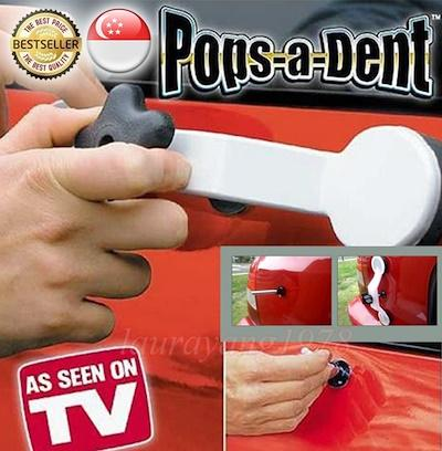 Pops A Dent Dent Ding Diy Car Repair Kit Removal Tool Fix It Popper Damage Glue Stick★as Seen On Tv By Sk I.t. Solutions.