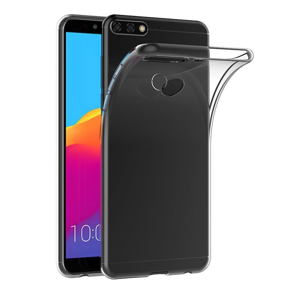 Windcase Ultra Slim Transparent Soft TPU Protector Case Cover for Huawei Honor 7C / Nova 2 Lite