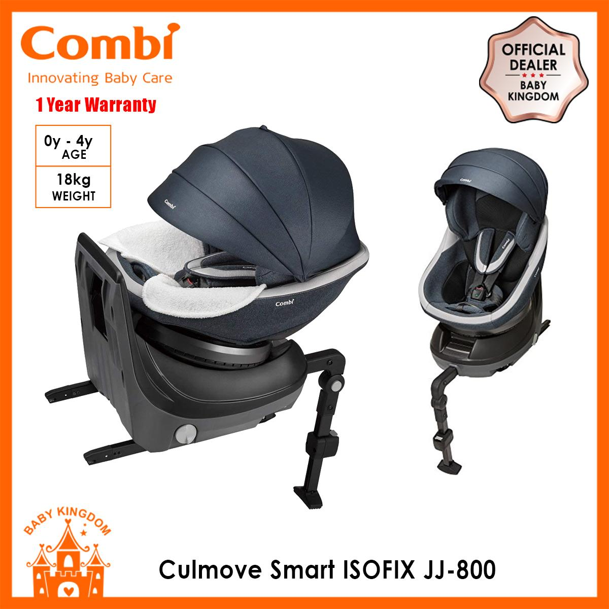 Combi Culmove Smart Isofix Jj 800 Car Seat Newrborn To 4 Years Old