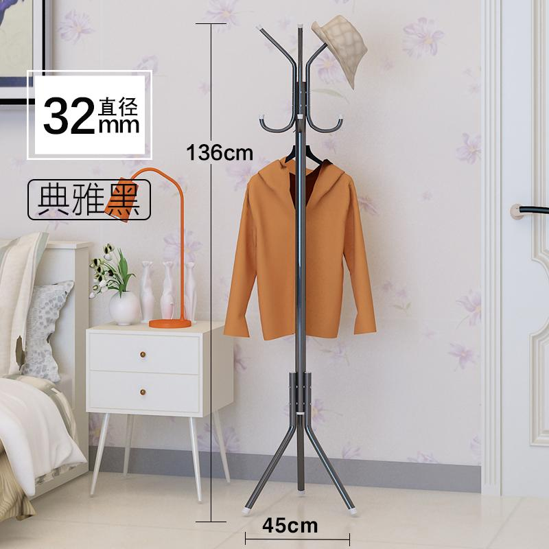 Floor-to-ceiling bedroom home economy module coat rack