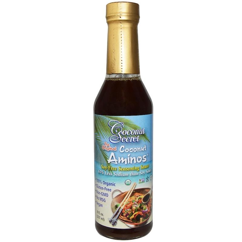 Coconut Secret The Original Coconut Aminos Soy-Free Seasoning Sauce 8 Fl Oz (237 Ml) By Star-Whaley.