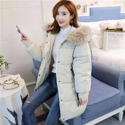 d8b5953903ace Off Season Winter down Jacket Cotton-padded Clothes Coat Cotton-padded Jacket  Female Mid