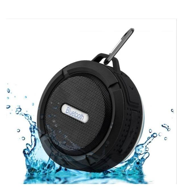 Review New Fashion Portable Waterproof Outdoor Wireless Bluetooth Speaker C6 Sucting Computer Mobile Phone Speaker Support Tf Card Others