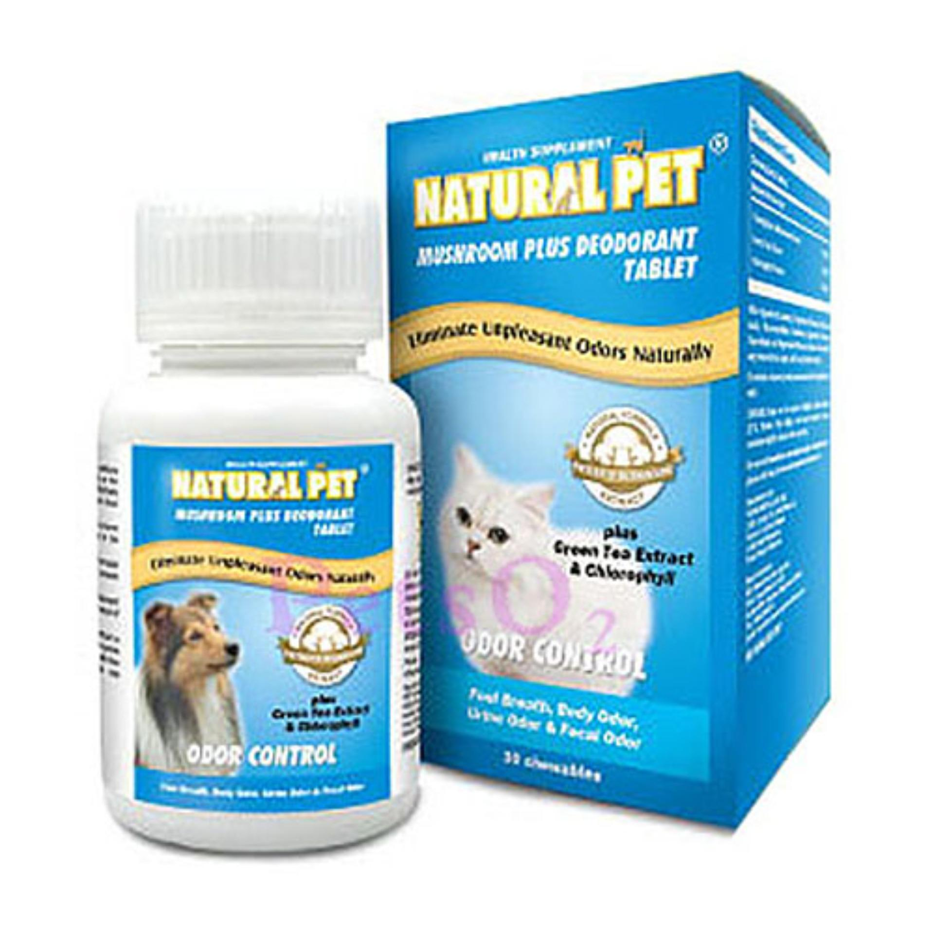 Natural Pet - Mushroom Extract Deodorant Tablet 150tbs By Petso2.