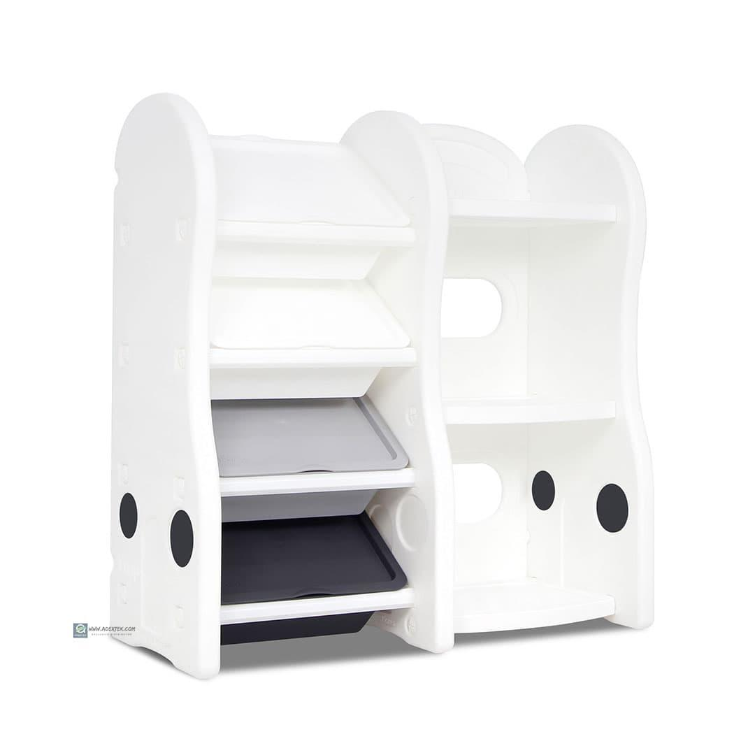 Smart Compact Storage Organizer + Bookshelf (Extended)