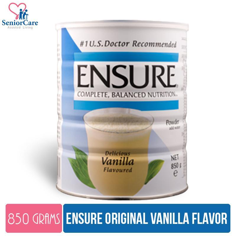 Ensure Original Vanilla Milk Powder – 850g By Cantley Lifecare.