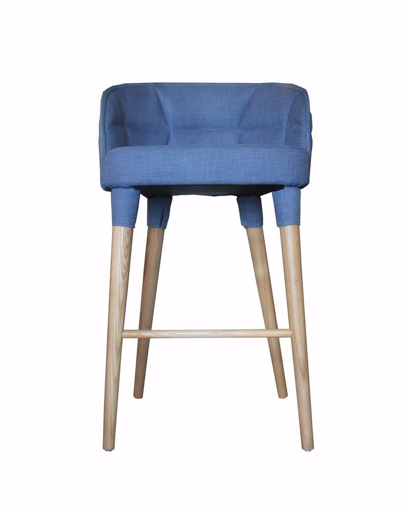 KUNGS BAR CHAIR (Black Stain Wood)