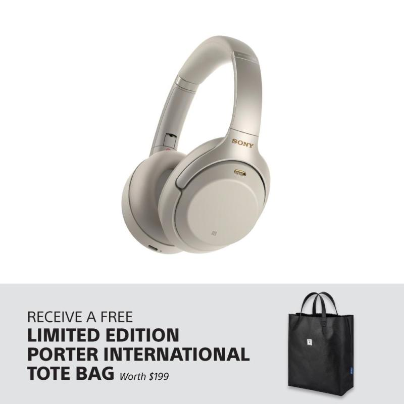 [Pre-Order] Sony Singapore WH-1000XM3 Bluetooth Over-Ear Noise Cancelling Headphones + FREE Limited Edition Porter International Tote Bag (worth $199) - Delivery on 24th Sep Singapore