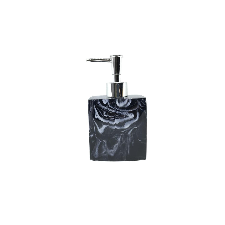 Top 10 Black Marbled Squarish Premium Designer Ceramic Soap Dispenser