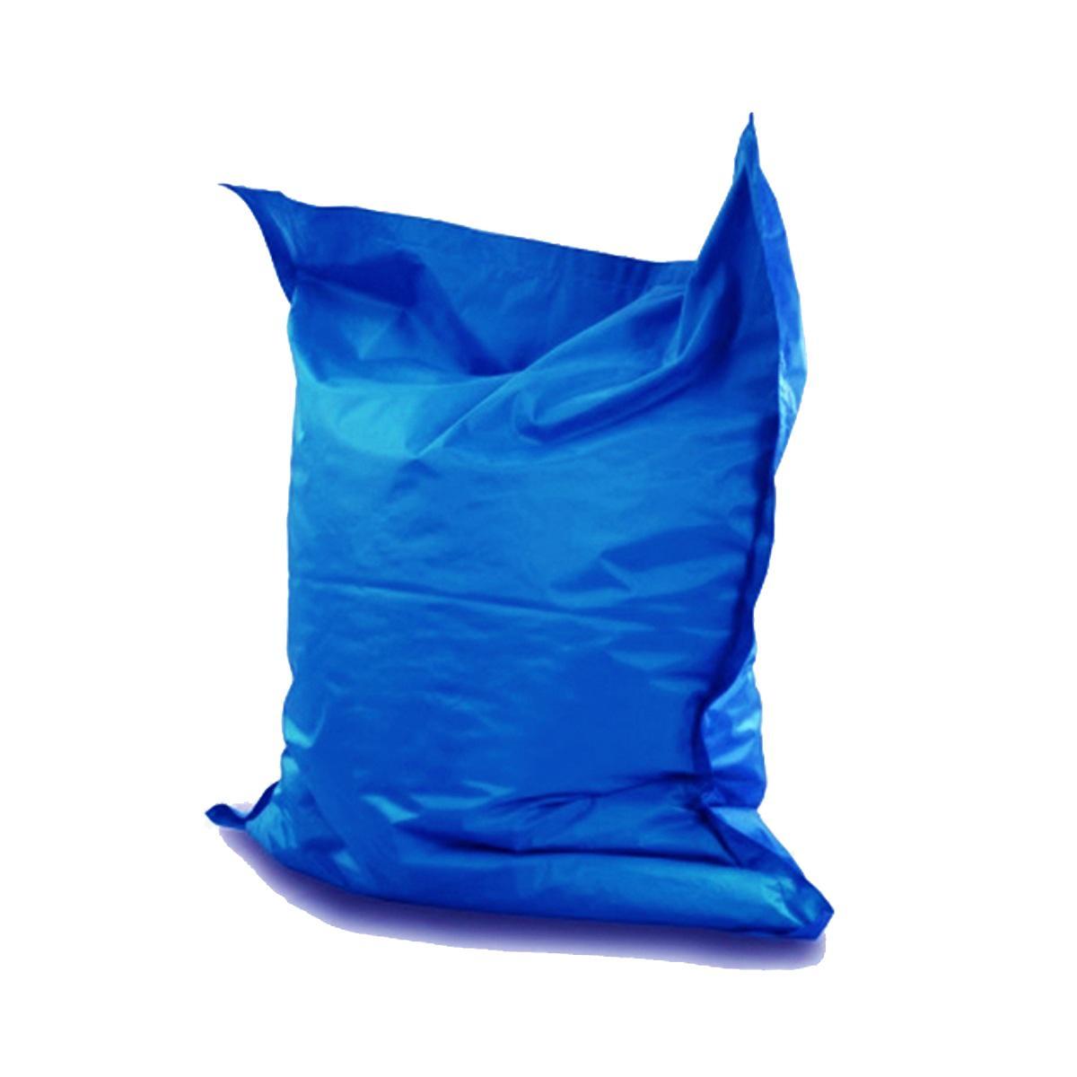 Giant Pillow Bean Bag, Blue