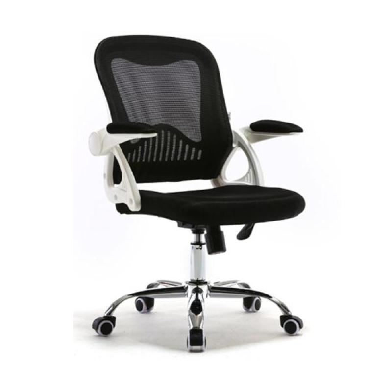 C55 Office Chair (White/Black)(Self Setup) Singapore