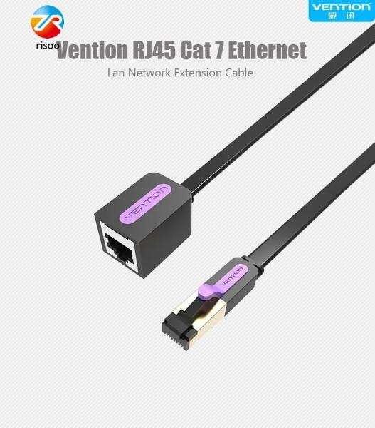 Vention Ethernet Cable RJ45 Cat 7 Extender Cable Male to Female Lan Network Extension Cable 2m Cord for PC Laptop