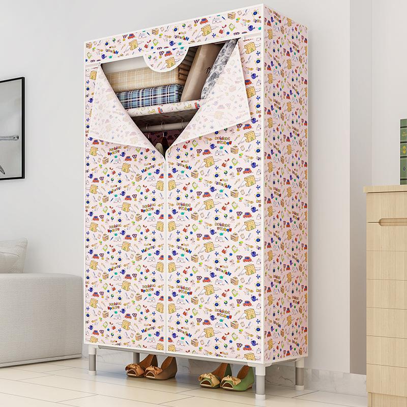 Modern Economy Simple Fabric Closet Storage Cabinet MWT11