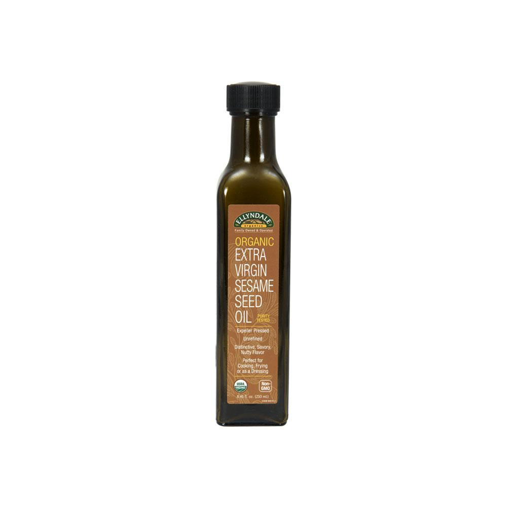 Now Foods, Ellyndale, Organic Extra Virgin Sesame Seed Oil, 8.45 Fl Oz (250ml) By Bloom Concept.