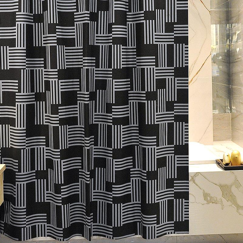 Tarp Shower Curtain Thick Mould Proof Bathroom Door Curtain Partition Bathroom Curtain Peva Shower Curtain All