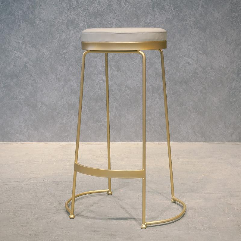 Nordic Minimalist Milk Tea Shop Bar Counter Table Cafe Online Celebrity Bar Stool Bar High Stool Solid Wood Bar Counter Custom-Built