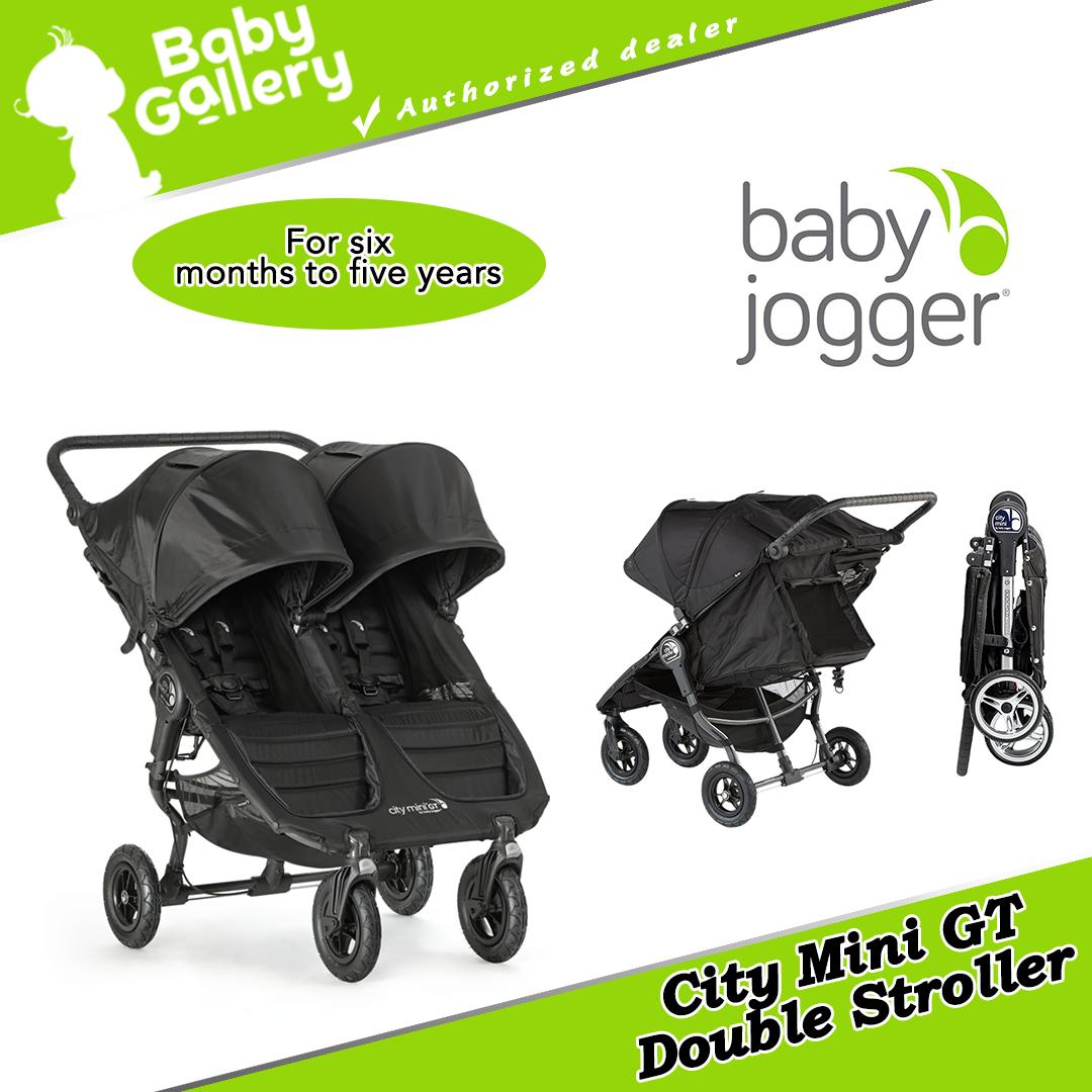 Baby Jogger City Mini Gt Double Twins Stroller Black Singapore