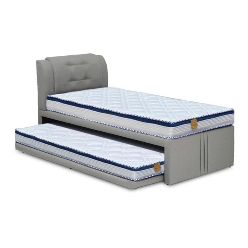 Loris 3-in-1 Bed + Foam Mattress (Top Super Single, Bottom Single)(FREE DELIVERY)(FREE ASSEMBLY)