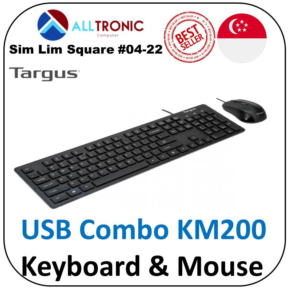 Targus KM200 USB Keyboard and Mouse Combo