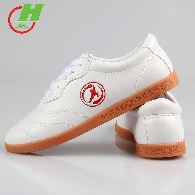 Kapok Tai Chi Shoes Than Nappa Leather Wear-Resistant Rubber Sole Female Summer Martial Arts Shoes Male Practice Kung Fu Shoes Gate Ball Training Shoes By Taobao Collection.