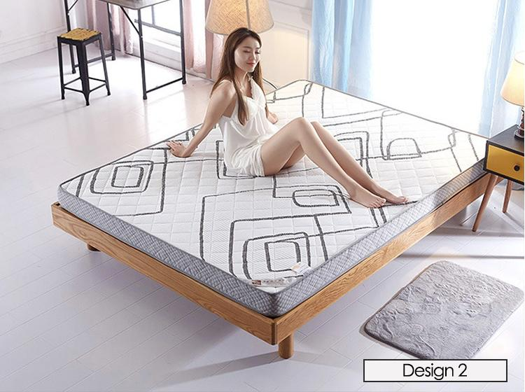 New Polygon Memory Foam Design Mattress Topper - 10CM Thickness (Mattress)