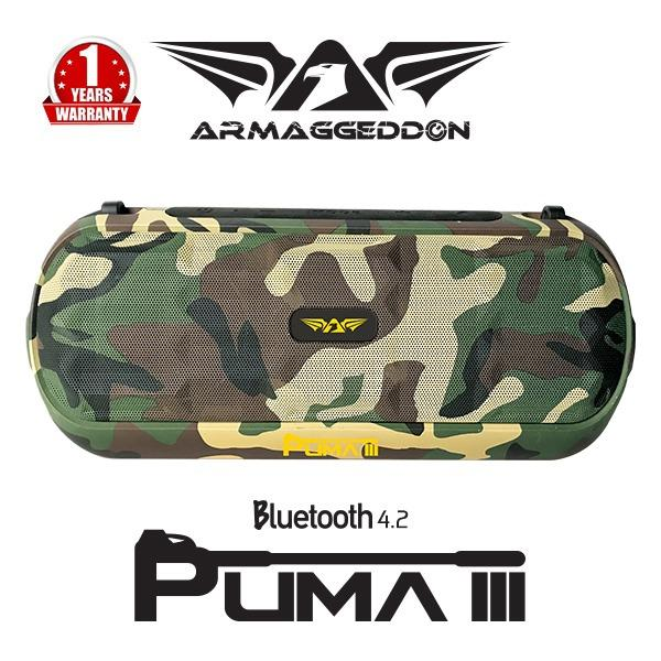Compare Prices For Armaggeddon Puma Iii Portable 4 2 Bluetooth Speaker