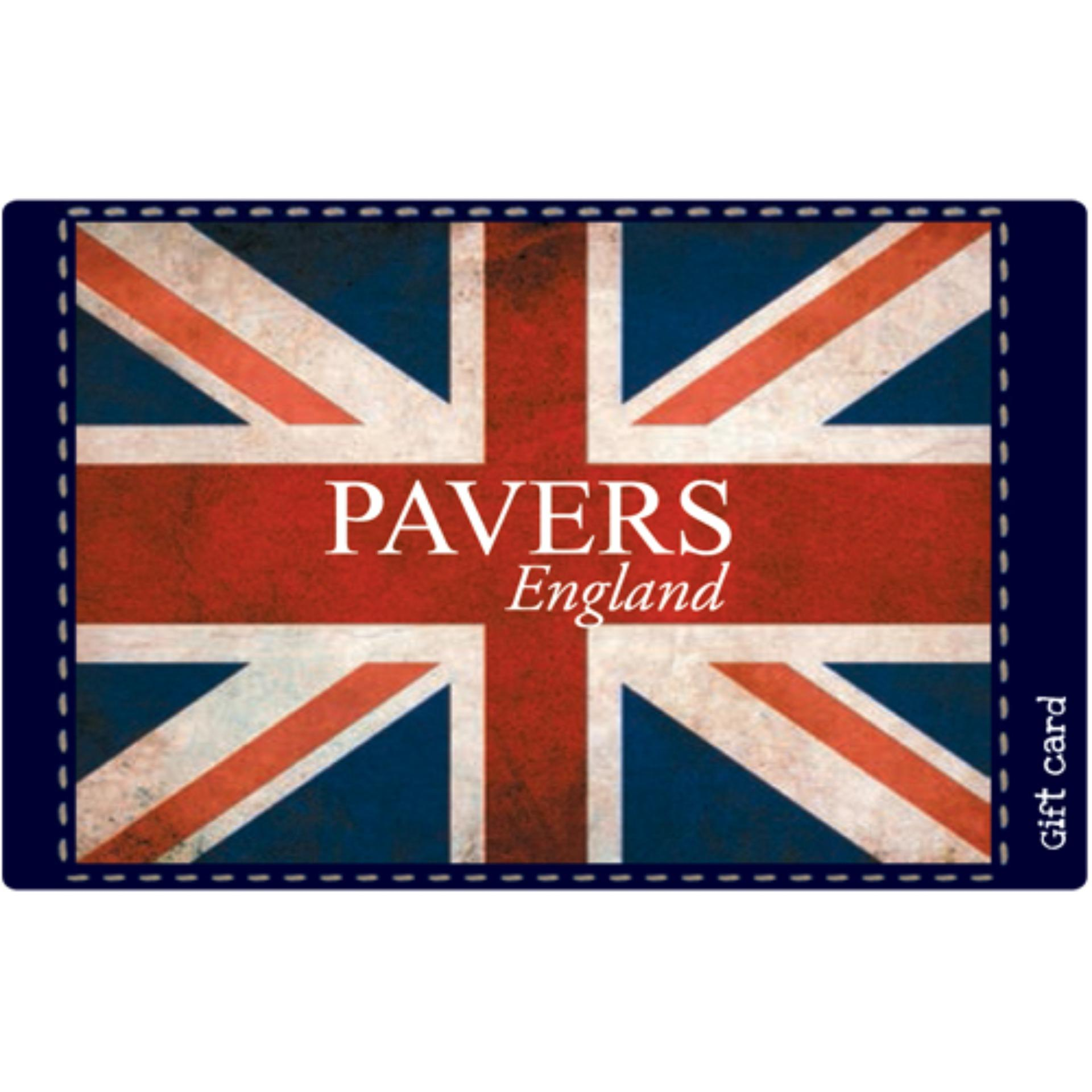 Pavers England Digital Gift Cards: Rs. 4005 By Qwikcilver Store.