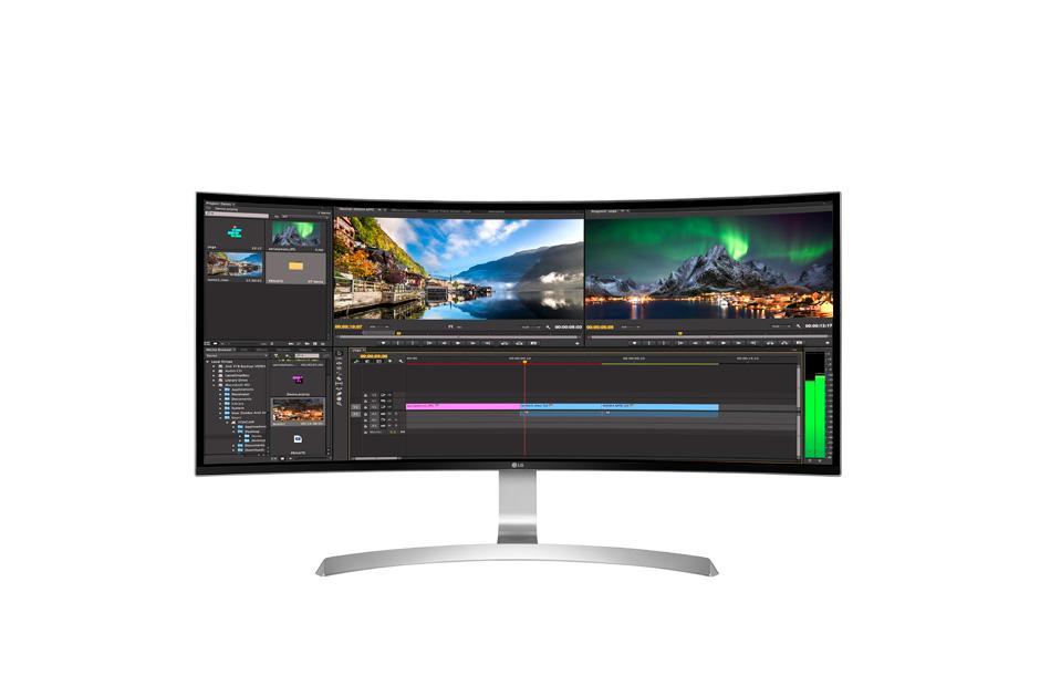 LG 34UC99 - 34 Curved Ultrawide IPS 4K Monitor Singapore